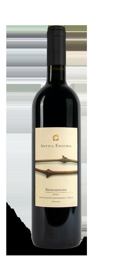 Senzazolfo Rosso IGT Puglia vino biologico antica enotria