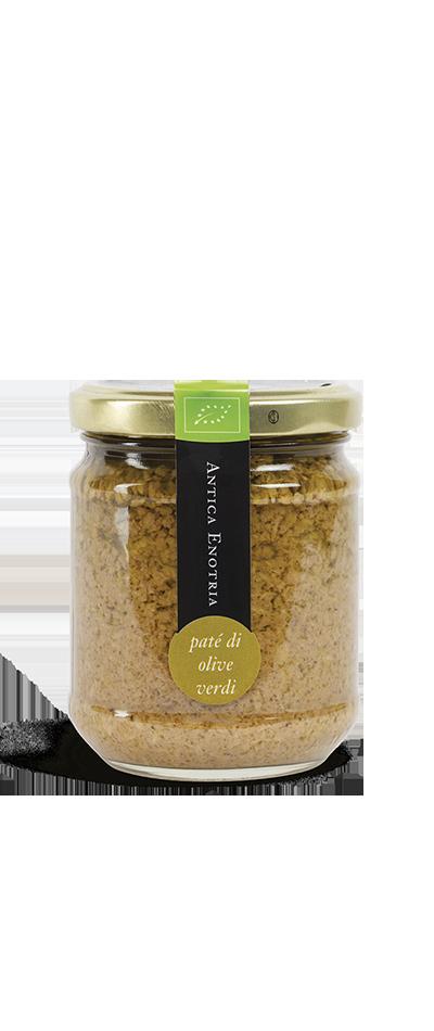 Il Patè di Olive Verdi biologico Antica Enotria