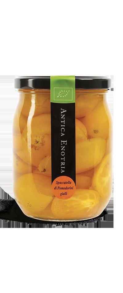 pomodorino giallo biologico antica enotria