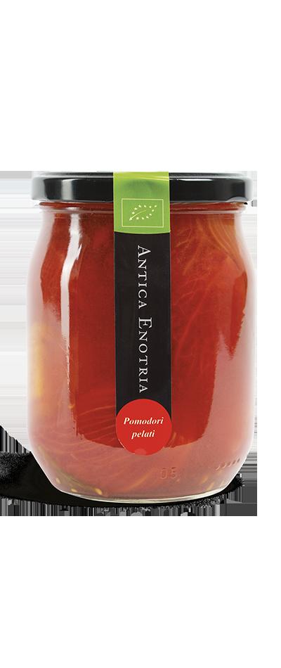 pomodori pelati biologici antica enotria puglia