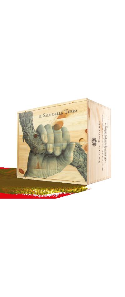 sei vini bioloigico antica entoria scatola regalo in legno